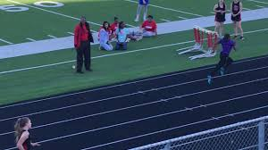 Jayla Franklin 8th grader 100m 11.9 Newton Tx - YouTube