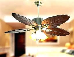 ceiling fan with pendant light hanging outdoor