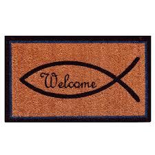 Home & More Christian Welcome 24 in. x 36 in. Door Mat-122122436 ...