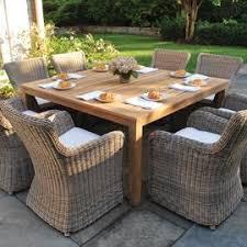 kingsley bate teak outdoor furniture elegant kingsley bate wainscott 61 square dining table dining tables