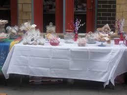 Bake Sale Display Running Reckless