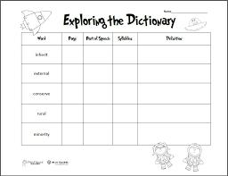 Dictionary-skills-worksheets & English Worksheets: Dictionary ...