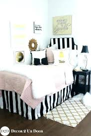 black white and gold bedding black white gold bedding excellent fur designer apartment set and sets