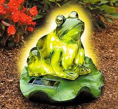 Frog Garden Solar LightSolar Frog Lights