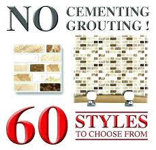 l and stick ceramic tile sticker tile self stick tiles kitchen ideas about self adhesive wall