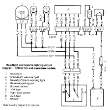 kawasaki en450 and en500 twins electrical wiring diagram 1985 2004