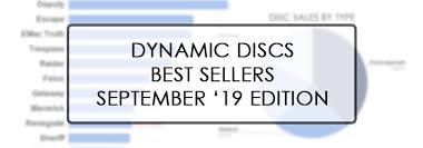 Dynamic Discs Best Sellers September 2019 Edition