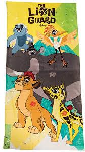 Swimming Swimwear <b>Disney</b> The Lion Guard Towel <b>100</b>% <b>Cotton</b> ...