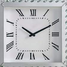 mirror square og wall clock
