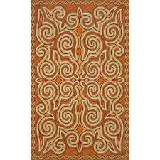 trans ocean cassera sunrise indoor outdoor area rug 4 x 6