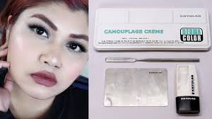 kryolan dermacolor camouflage cream tutorial review