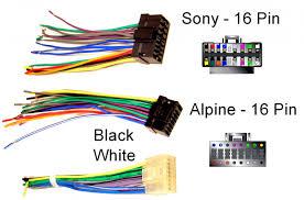 sony car audio wiring diagram schematic diagramalpine car stereo wiring harness wiring diagram sony car