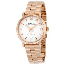 marc by marc jacobs silver dial rose gold tone ladies watch marc by marc jacobs silver dial rose gold tone ladies watch mbm3244