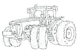John Tractor Coloring Pages To Print John Tractor Colouring John