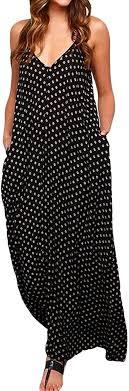 <b>ZANZEA Womens</b> Floral Printed Maxi Dress Casual <b>Summer</b> ...
