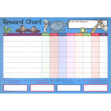 Free Sticker Charts 12 A4 Reward Charts And Sticker Bundles Kids Stationery At The Works
