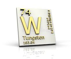 Tungsten Form Periodic Table Of Elements Stock Illustration ...