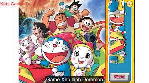 Xếp Hình Doraemon - Nobita - Xuka - Chaien - Xêkô - YouTube