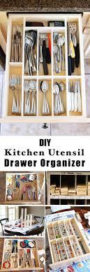 Diy Kitchen Drawer Dividers 25 Best Ideas About Utensil Organizer On Pinterest Utensil