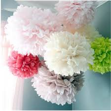 Diy Flower Balls Tissue Paper 2019 20 25 30cm Diy Papper Flower Ball Wedding Decoration Tissue Paper Pompom Artificial Flowers Baby Shower Birthday Party Decorations From
