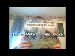 Small Picture How to Make Coloring Books YouTube