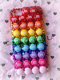 M&M Candy iPhone 5 Case by CandyCrystalsLA on Etsy