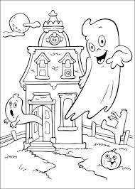 Halloween Coloring Pages Spoken Halloween Herfst Knutselen En