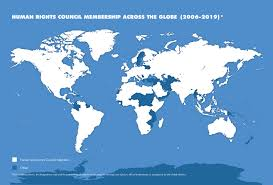Ohchr Hrc Membership Of The Human Rights Council