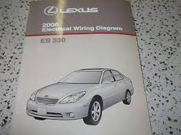 2006 lexus es330 es 330 electrical wiring diagram service shop image is loading 2006 lexus es330 es 330 electrical wiring diagram