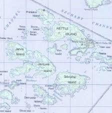 Broken Group Topo Map