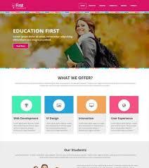 Kids School Website Template Colleges Webthemez