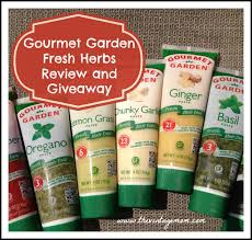 gourmet garden fresh made easy herbs review and giveaway