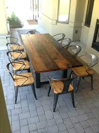 wooden patio dining tables reclaimed dining table attractive wood patio dining table best ideas about outdoor