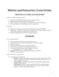 edu 2 writing and formatting cover letters cover letter guidelines