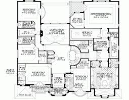 Large House Plans 7 Bedrooms And Bright Idea 9 4 Bedroom Plan