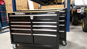 husky tool chest 52 inch. replaced old cabinet with husky 52\ tool chest 52 inch
