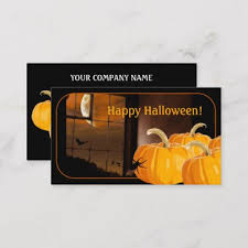 Halloween Business Cards Halloween Haunted House Business Card Zazzle Com