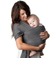 4 in 1 Baby Wrap Carrier and Ring Sling - Charcoal Gray - Kids N' Such