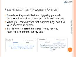 Google Add Words Why And How To Use Negative Keywords For Google Adwords