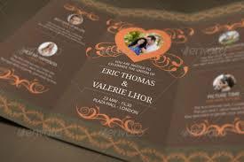 Wedding Invitation Folding 19 Trifold Wedding Invitation Templates Free Sample Example