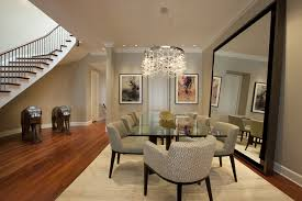 area mirror tables for living room. mirrored dining table room contemporary with area rug baseboards ceiling. image by: michael abrams limited mirror tables for living