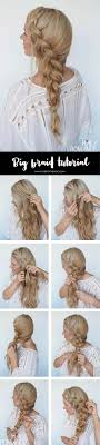 Best Hair Braiding Tutorials Big Braid