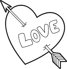 Small Picture Free Printable Valentine Heart Coloring Page for Kids
