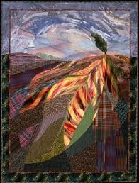 """Contemporary MASSters II"""" at New England Quilt Museum, Lowell ... & Barbara Lydecker Crane – """"Tree and Leaf"""". The New England Quilt Museum is  featuring quilts ... Adamdwight.com"""