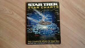 Details About Star Trek Star Charts The Complete Atlas Of Star Trek Geoffrey Mandel 2002
