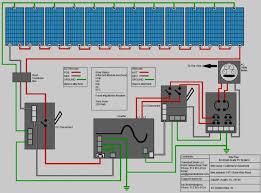 wind solar power system wiring diagram solar power system design
