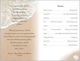 020 Template Ideas Funeral Service Program Programs 310089