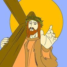 Religious Easter Coloring Pages 11 Online Jesus Coloring Books And