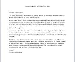 25 Letter To Immigration From A Friend Markcritz Template