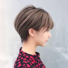 ショート 大人女子 大人かわいい 横顔美人nex 趙 英来 よん 465520